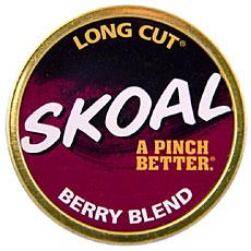 SKOAL LONG CUT BERRY BLEND 5CT/ROLL