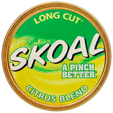 SKOAL LONG CUT CITRUS BLEND 5CT/ROLL
