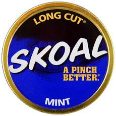 SKOAL LONG CUT MINT 5CT/ROLL