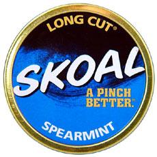 SKOAL LONG CUT SPEARMINT 5CT/ROLL