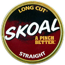 SKOAL LONG CUT STRAIGHT 5CT/ROLL