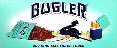 BUGLER FILTER CIGARETTE TUBES - 200CT