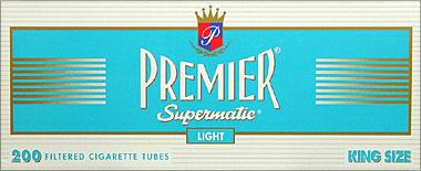 PREMIER SUPERMATIC LIGHT KING SIZE TUBES- 200CT
