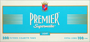 PREMIER SUPERMATIC LIGHT 100 TUBES- 200CT